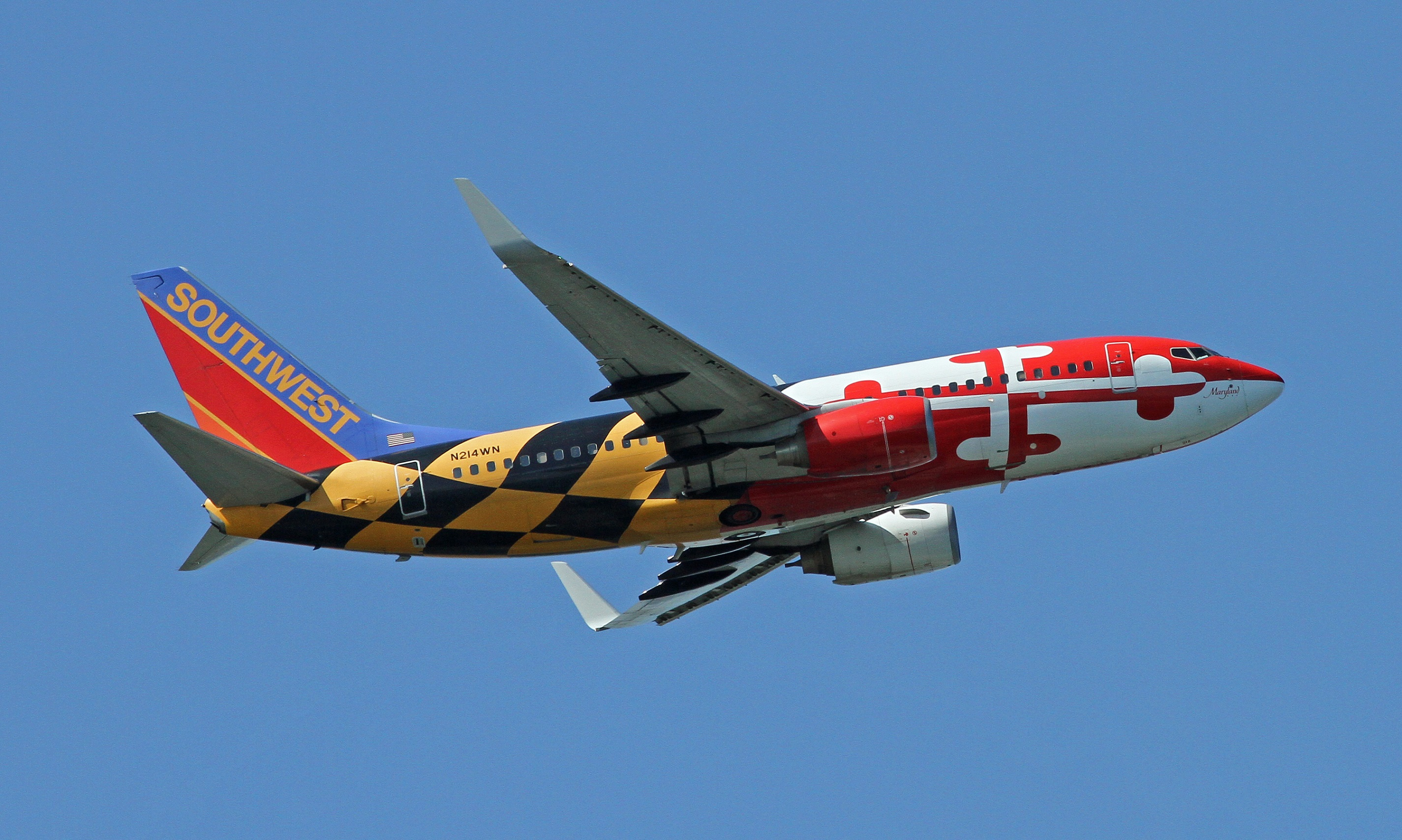 A Rundown Of Southwest Special State Livery