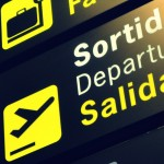 departure sign; last minute travel tips