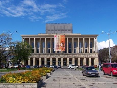 Grand Theatre in Lodz